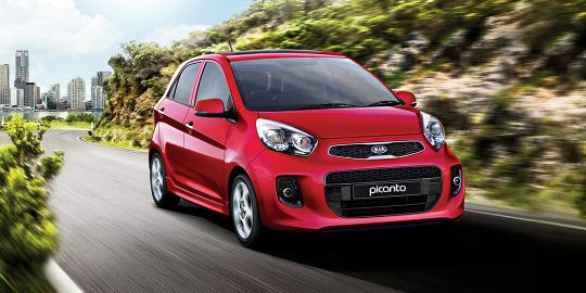 Volkswagen Golf VS KIA Picanto