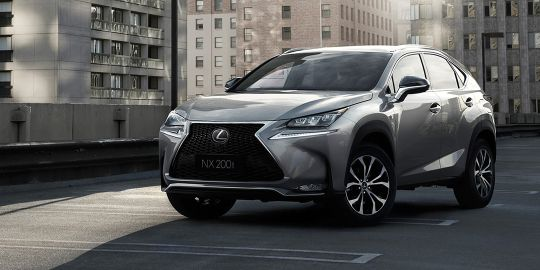 Lexus NX VS Jeep Wrangler
