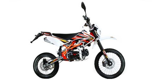 Gazgas Raptor 100 VS Minerva Supermoto 250