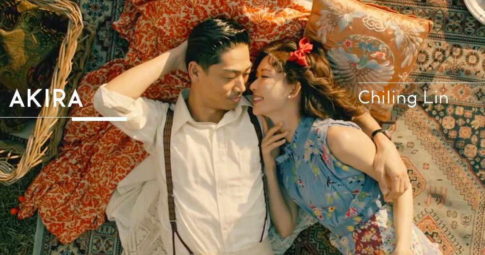 【婚後首部作品】林志玲與AKIRA甜蜜合演跨時空愛情故事 攜手譜寫冬日戀曲!