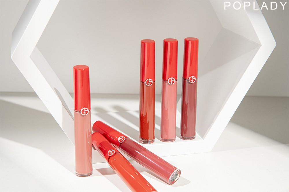 【編輯精選】結合觸感和色感 大勢霧面唇妝首推GIORGIO ARMANI Lip Maestro