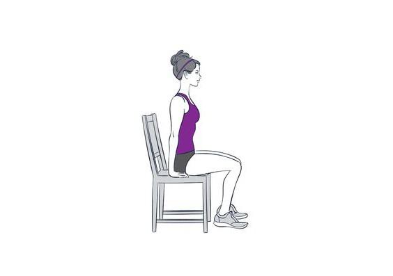 【收腹運動】WFH日坐夜坐水桶腰 3個簡易椅子動作助你BYEBYE肚腩