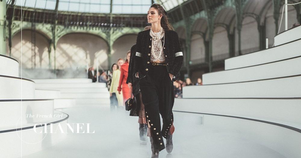 【巴黎時裝週】CHANEL的自由和奔放!Virginie Viard致敬昔日的美好回憶!