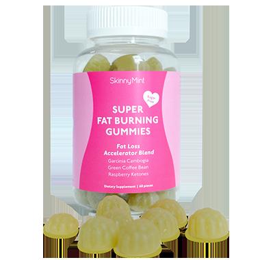 super fat burning gummies   skinnymint