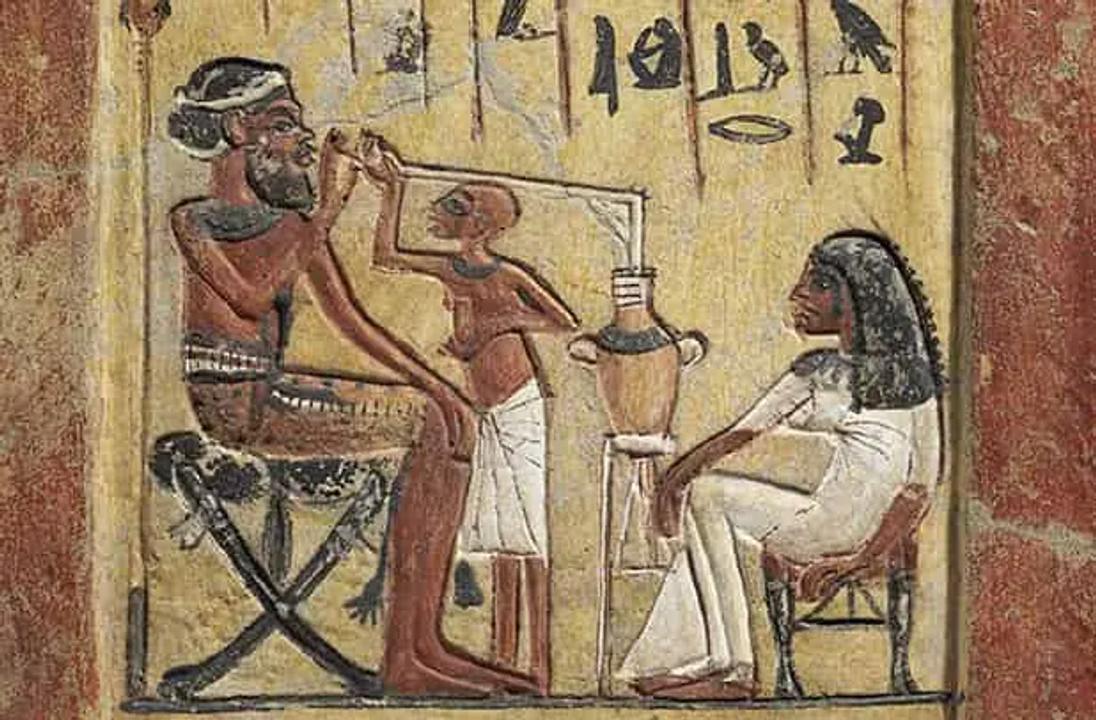 """Người Ai Cập cổ đại đã """"chill"""" như này từ 3000 năm trước"""