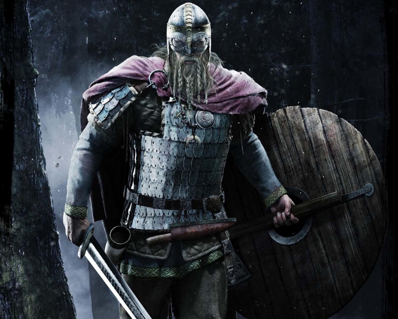 Vikings - những chiến binh Bắc Âu.
