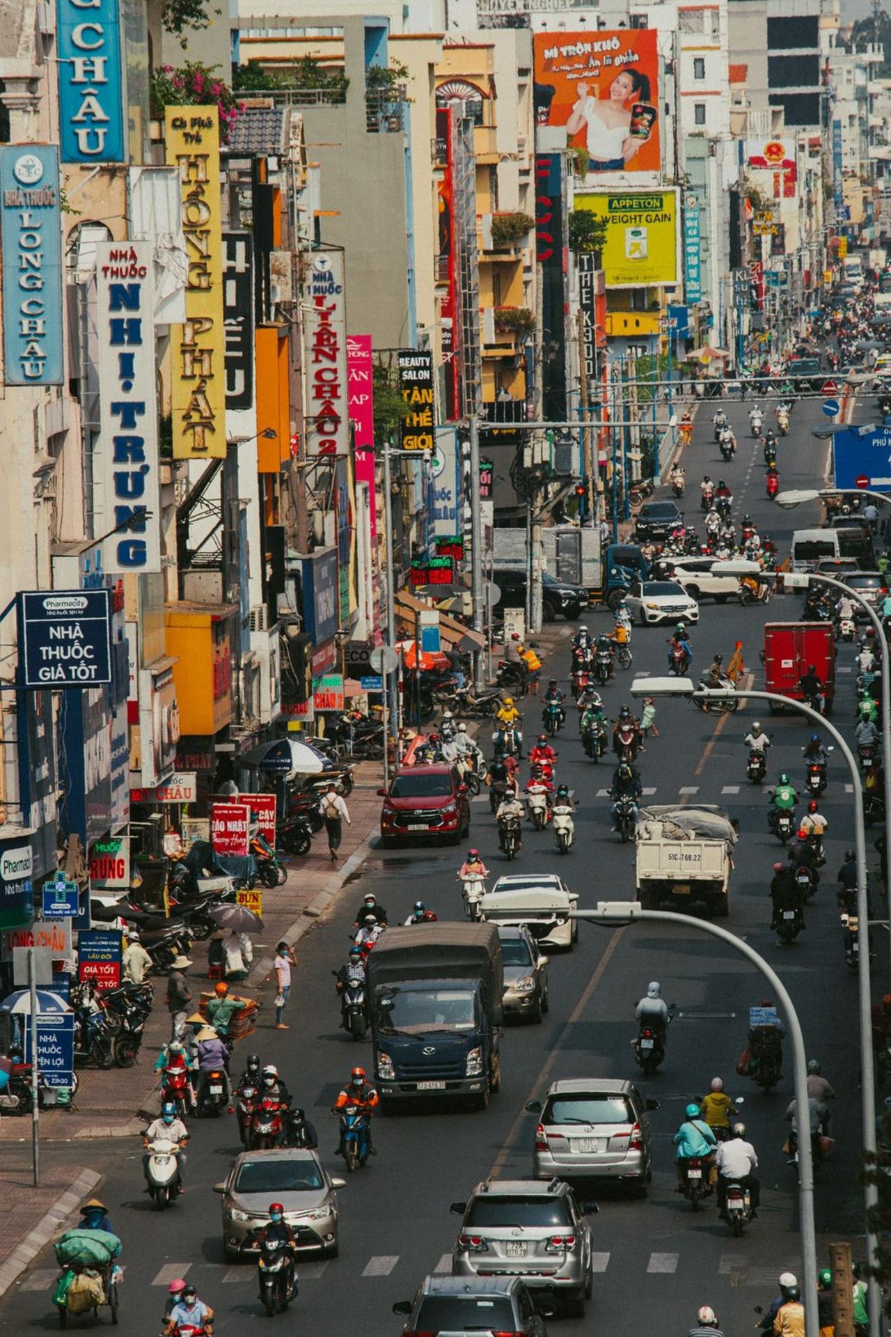 Đường Hai Bà Trưng, Quận 3, Thành phố Hồ Chí Minh. Ảnh: nvthuongg