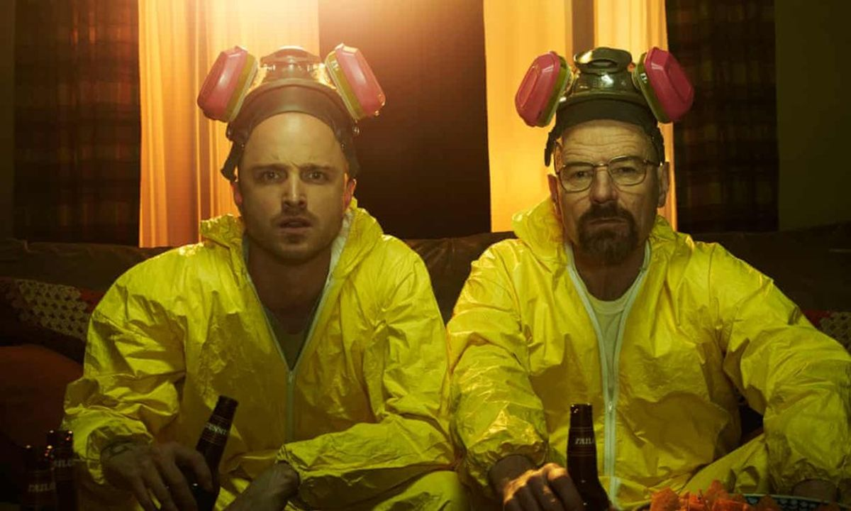 Thầy White và Jesse trong Breaking Bad