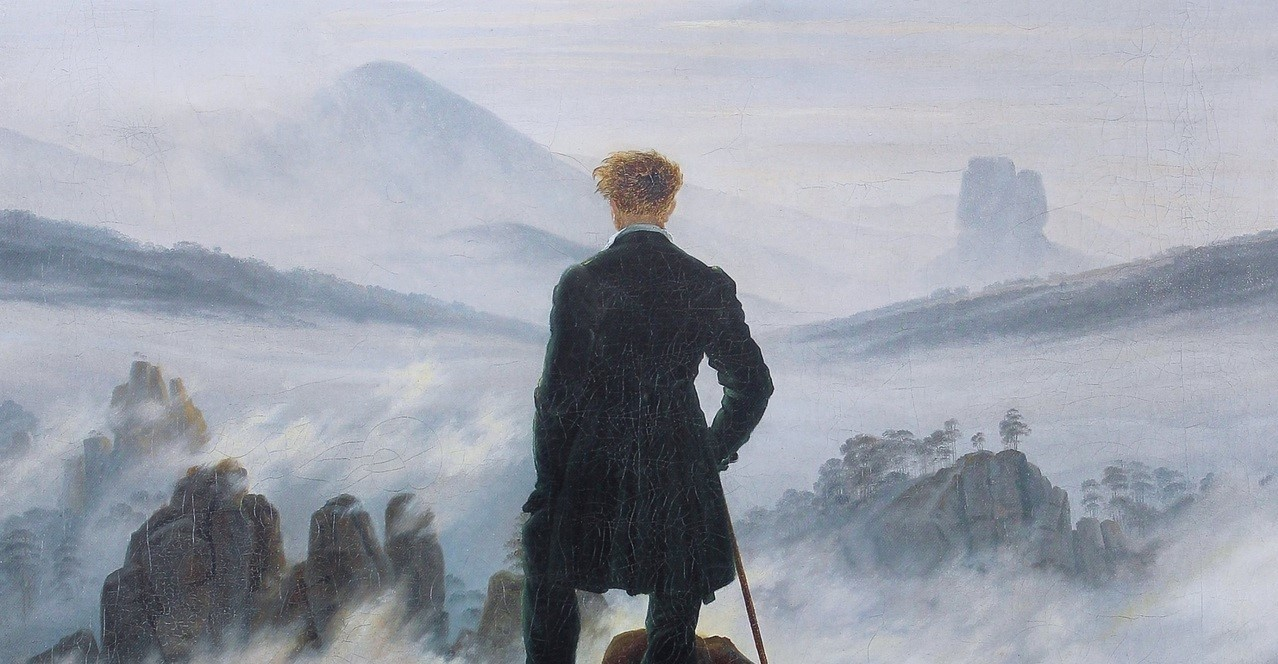 Wanderer above the Sea of Fog - Caspar David Friedrich (1818)