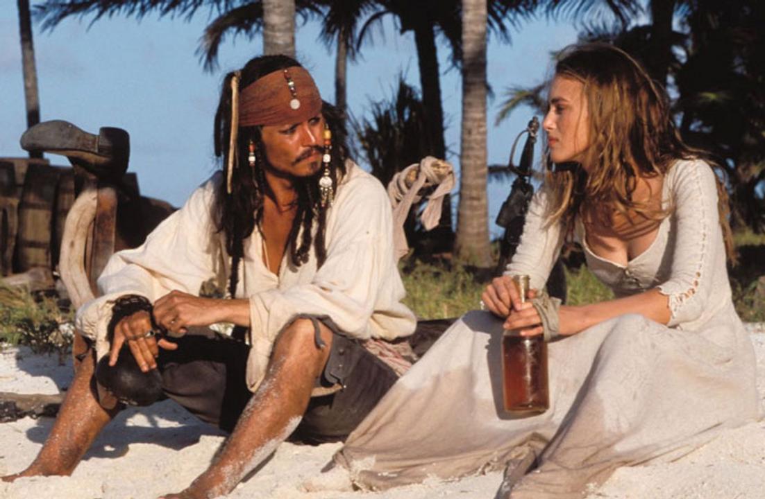 Jack và chai rượu và người đẹp và một cái đảo hoang riêng