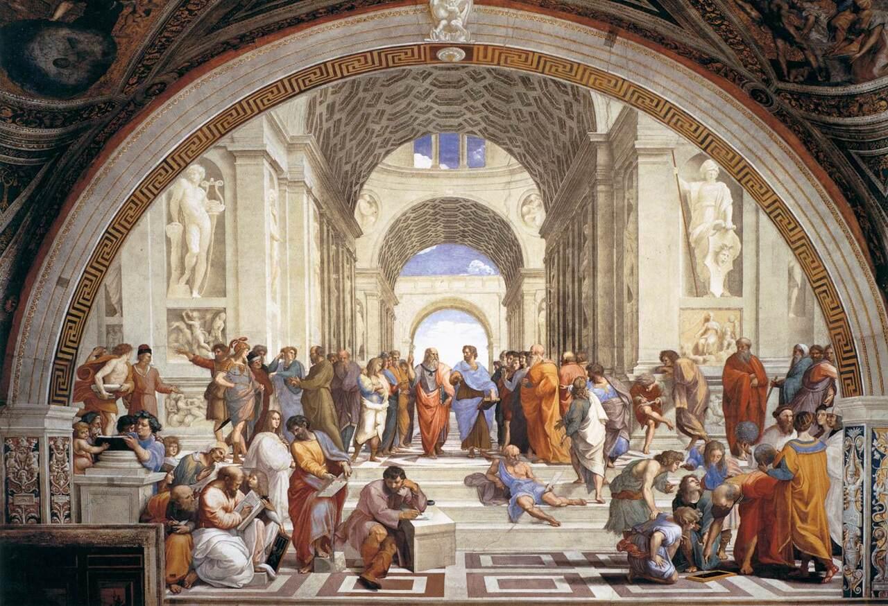 La scuola di Atene :: Raphael