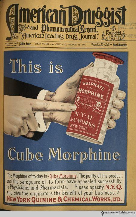 Một ấn phẩm về Morphin thời điểm này