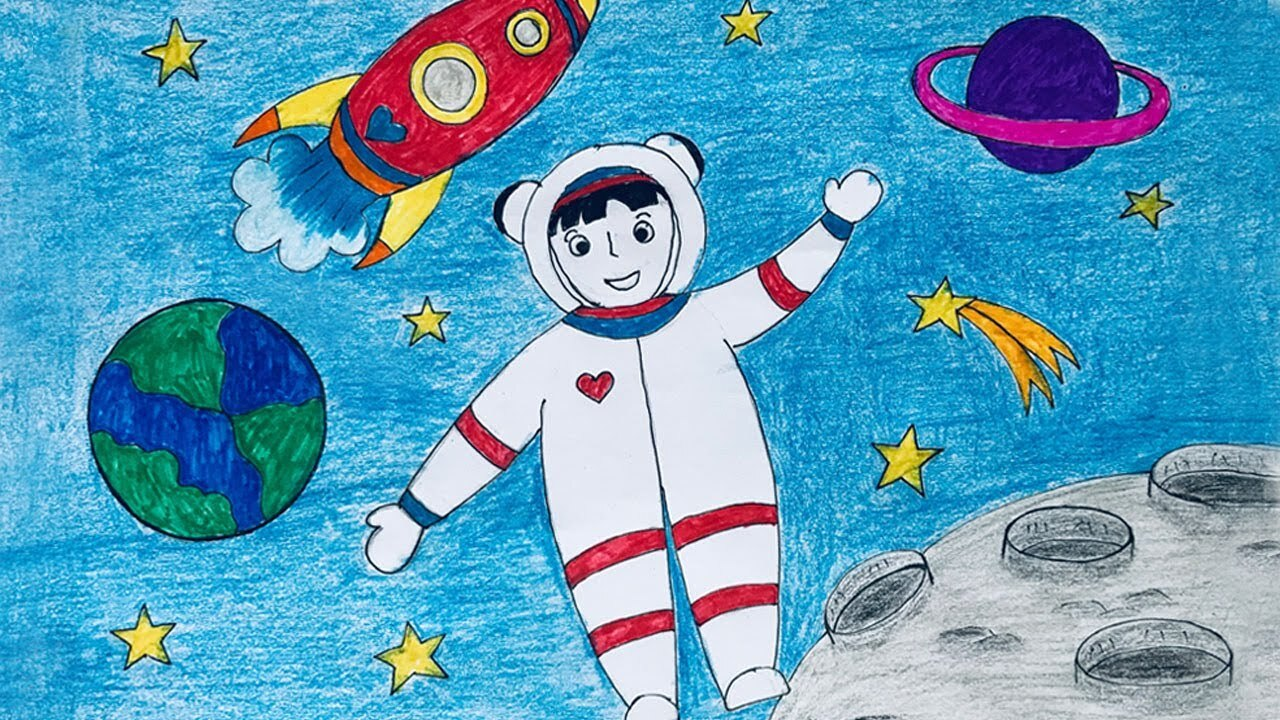 <i>Ước mơ trở thành phi hành gia của một em bé</i>
