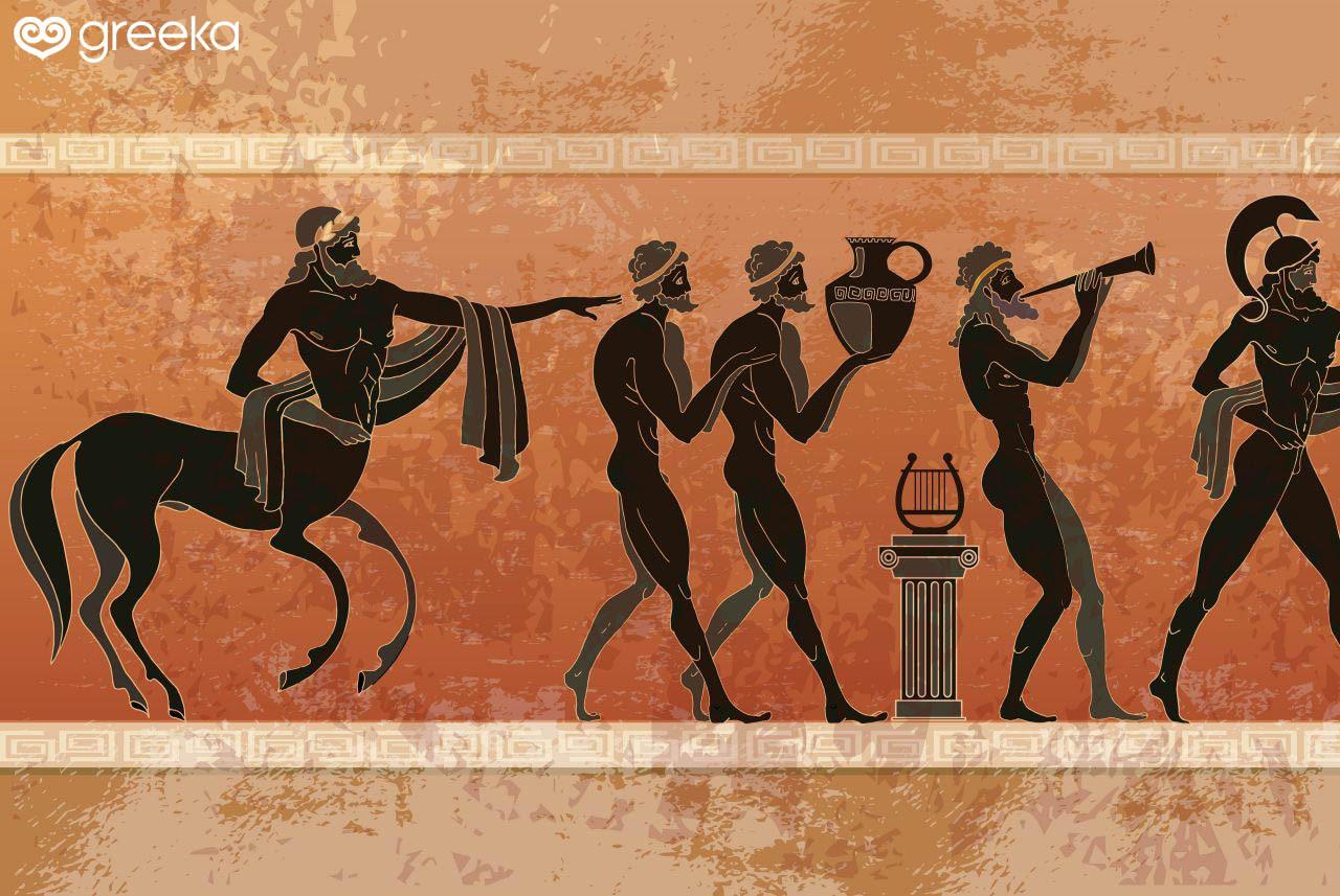 Một số minh hoạ về thần thoại và huyền sử Hy Lạp (nguồn: Greeka)