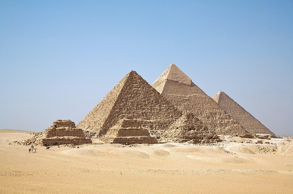 Một trong những phát hiện khảo cổ quan trọng nhất thời cận đại là Kim Tự Tháp (nguồn: Wiki)