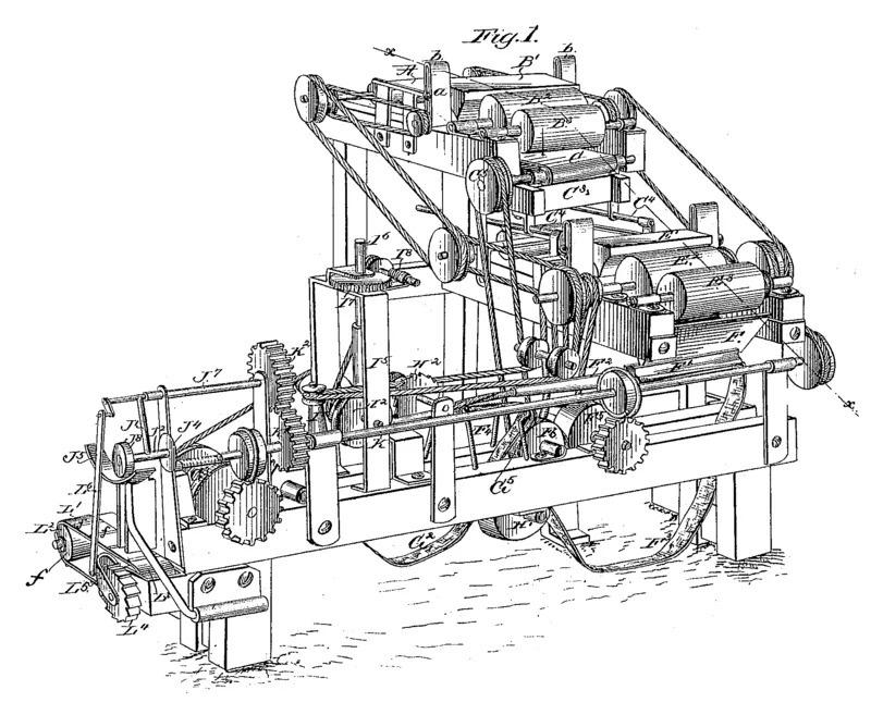 Hình ảnh máy cuộn thuốc lá đầu tiên