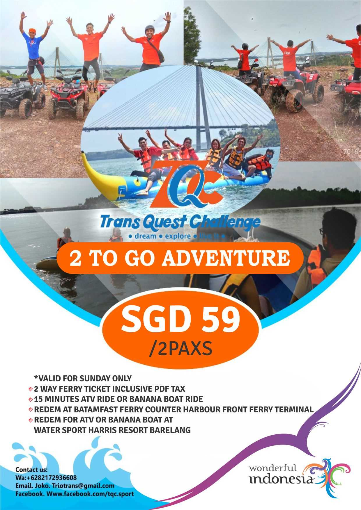 Hot Deals 3 2 To Go Adventure Trip Valid For Work Permit