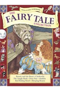 Seven Classic Storybooks: The Fairy Tale Collection: Beauty and the Beast, Cinderella, the Jungle Book, Peter Pan, Aladdin, Red Riding Hood, Sleeping