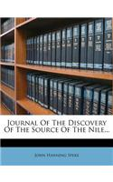 Journal of the Discovery of the Source of the Nile...