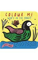 Color Me: Who's in the Pond: Baby's First Bath Book