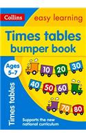 Times Tables Bumper Book: Ages 5-7