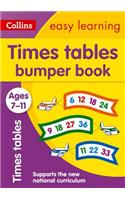 Times Tables Bumper Book: Ages 7-11