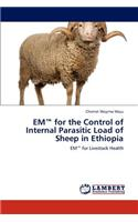 Em for the Control of Internal Parasitic Load of Sheep in Ethiopia