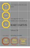Handbook on the Physics and Chemistry of Rare Earths, Volume 50: Including Actinides