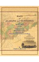 Maps of Alabama and Tennessee by Matthew Rhea