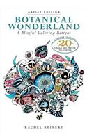 Botanical Wonderland: A Blissful Coloring Retreat: A Curated Collection - 20 Large Art Prints to Color