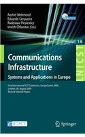 Communications Infrastructure, Systems and Applications