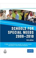 Schools for Special Needs: A Fully Comprehensive Guide to Special Needs Education in the UK: 2009-2010