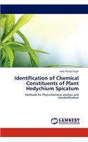 Identification of Chemical Constituents of Plant Hedychium Spicatum