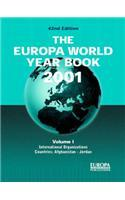 The Europa World Year Book 2001: Vol 1