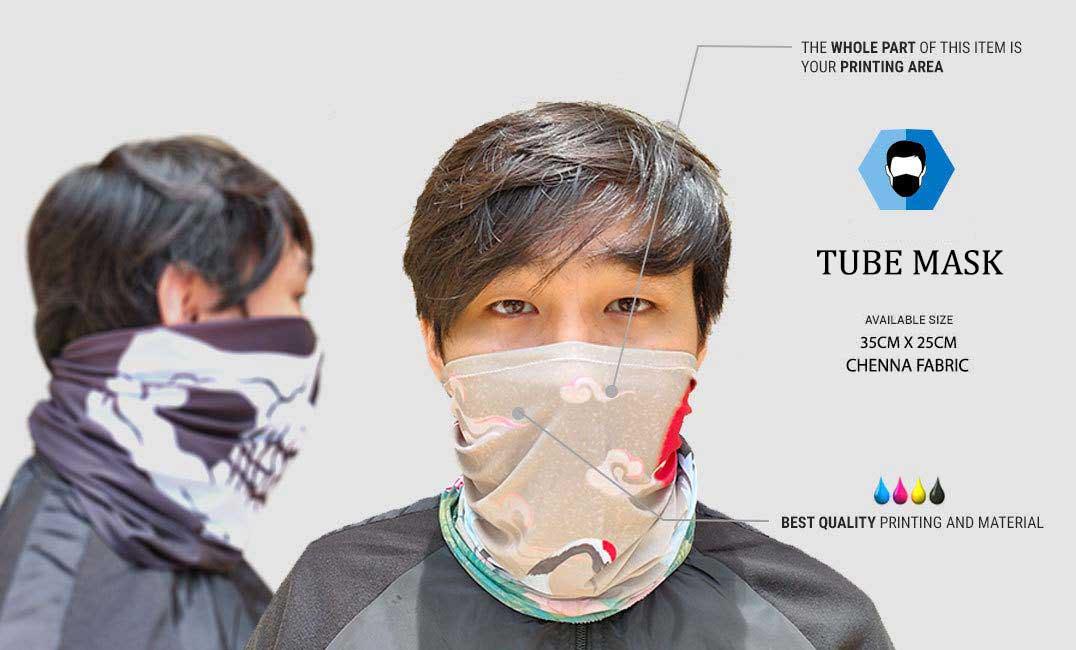 custom tube mask