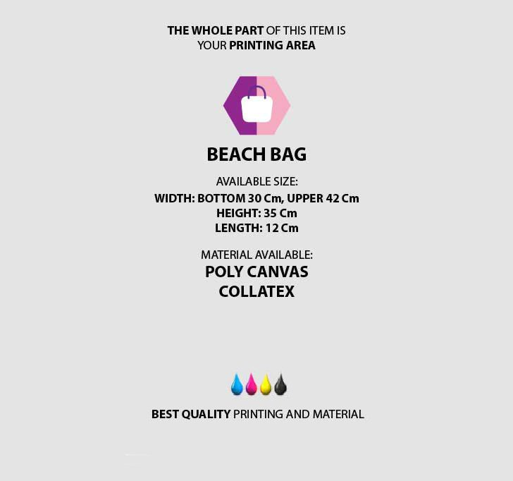 fullprint  Beach Bag 3