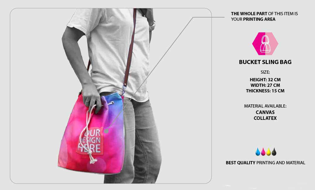 Bucket Sling Bag 1