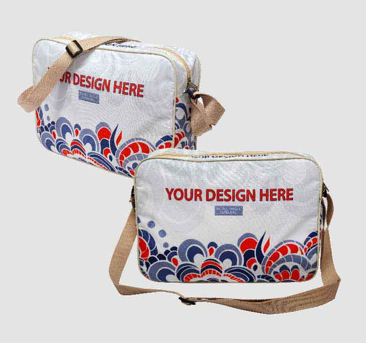 fullprint  Canvas Sling Bag 2