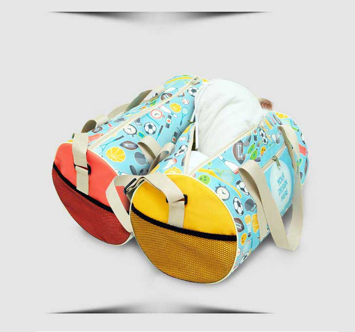 fullprint  specification mobile circle gym bag 1