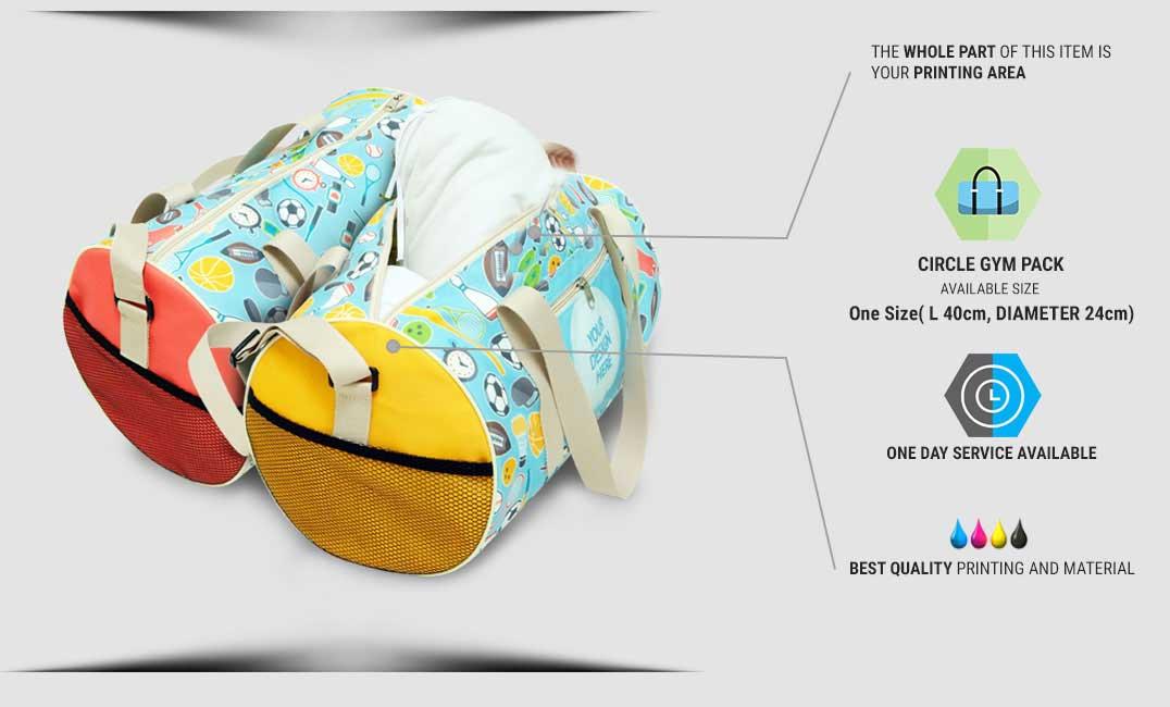 circle gym bag 1