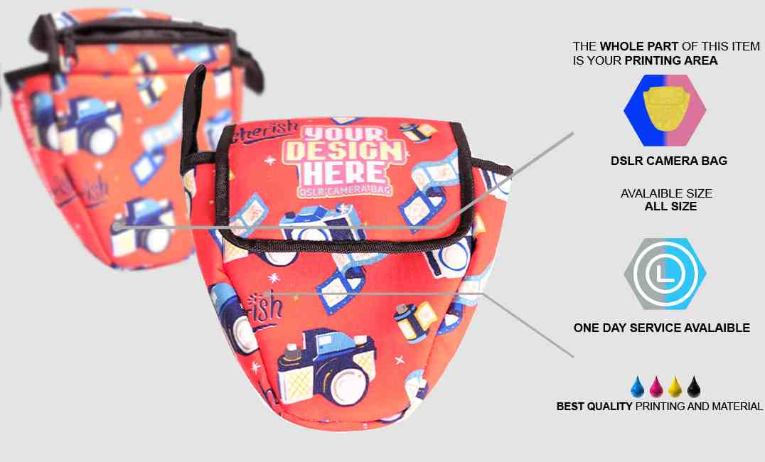 DSLR camera bag 1