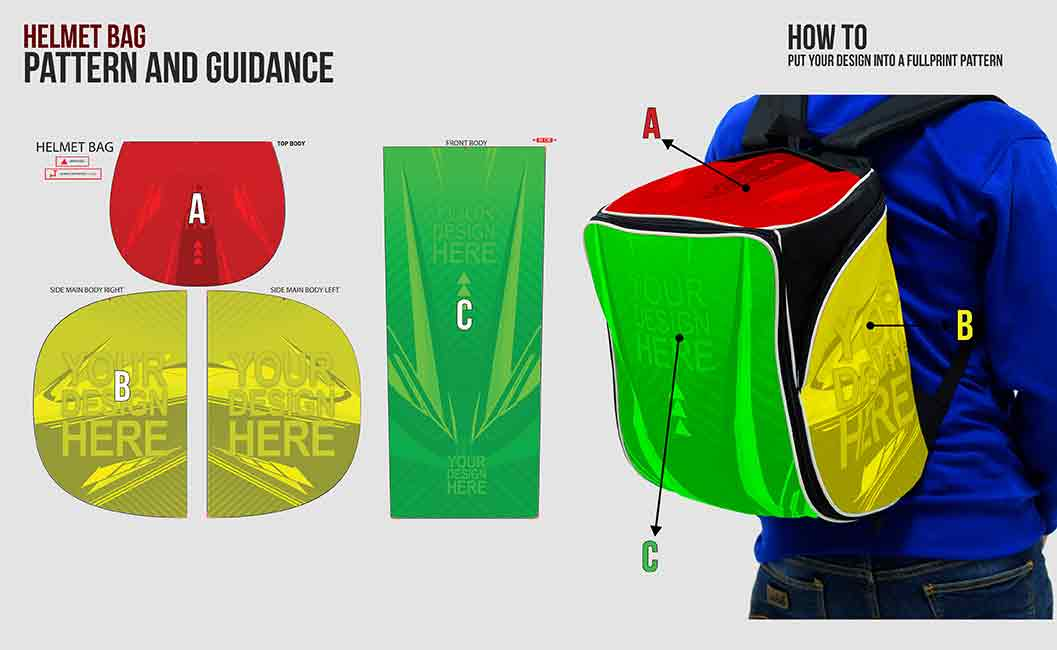BADMINTON BACKPACK. turtorial