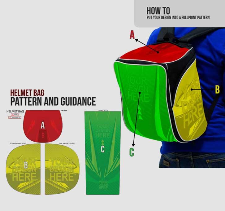 fullprint  specification mobile helmet-bag 3