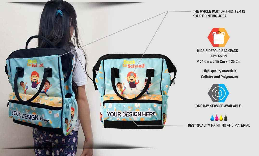 kids sidefold backpack 1