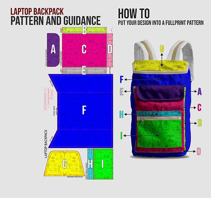 fullprint  specification mobile laptop backpack 2