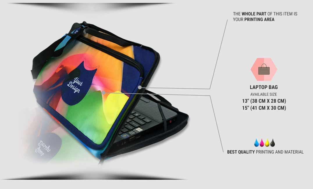 laptop bag specification