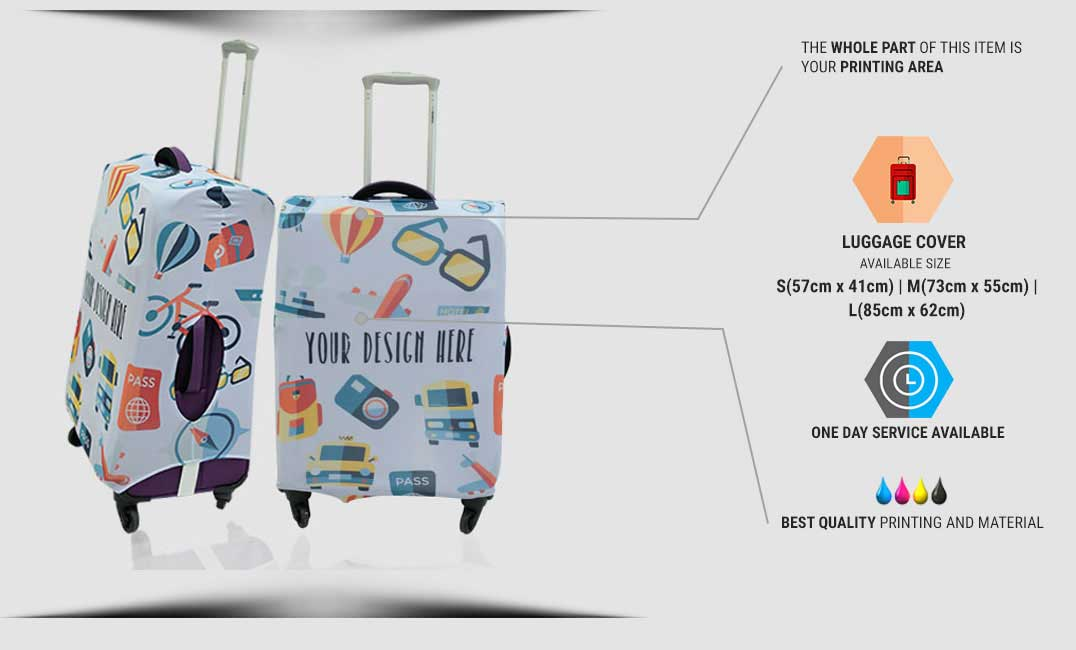 luggage cover specification