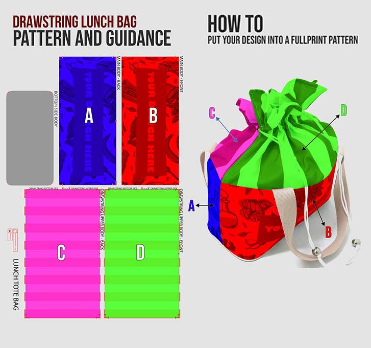 fullprint  specification mobile lunchtotebag 3