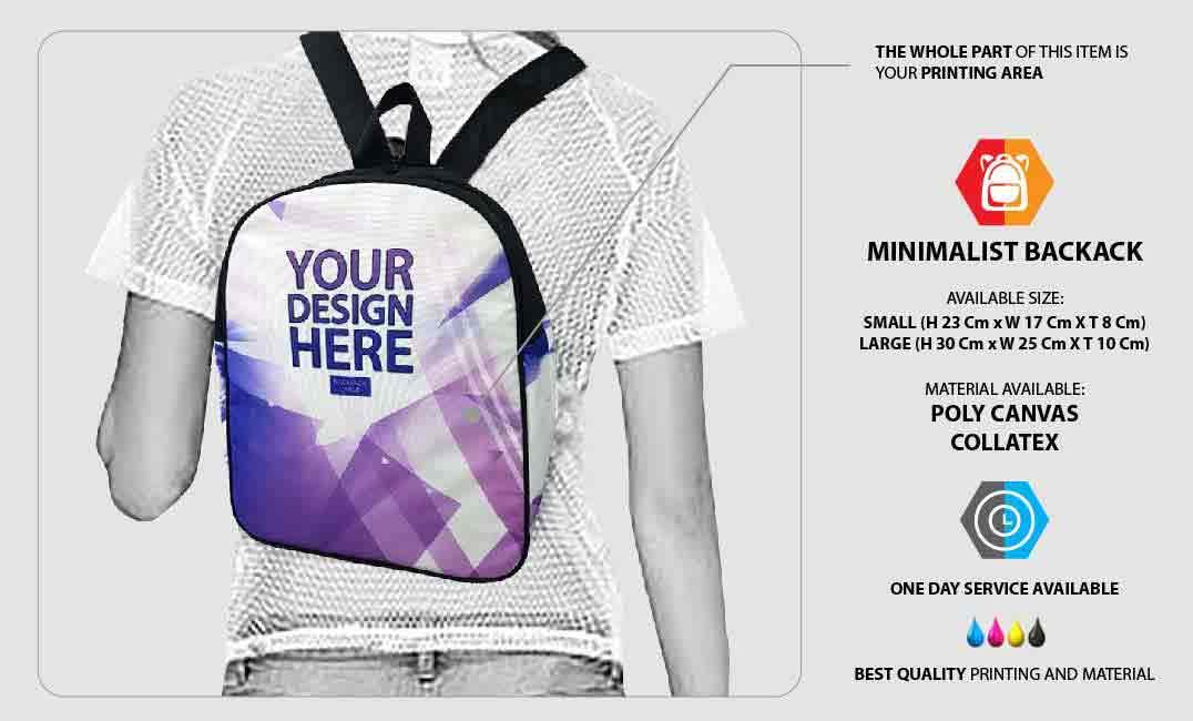 Minimalist Backpack 1