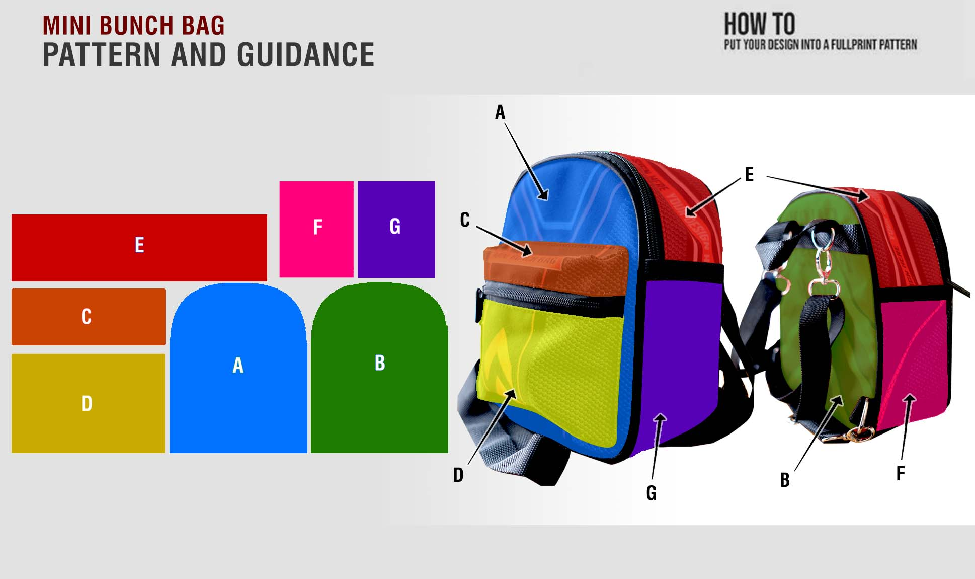 fullprint  Minimalist Backpack mobile 3